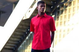 Pánská popelínová košile kr.rukáv Short Sleeve Poplin Shirt - zvětšit obrázek