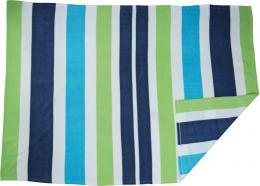 Pruhovaná fleecová deka
