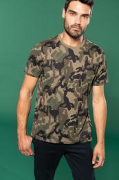 Pánské tričko Camo camouflage