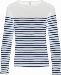 Dámské tričko dl.rukáv Mariniére - Výprodej