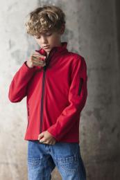 Dětská softshellová bunda - zvětšit obrázek