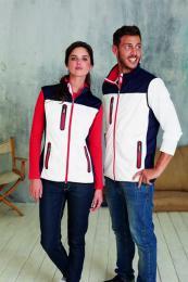 Pánská softshellová vesta Tri-color - zvětšit obrázek