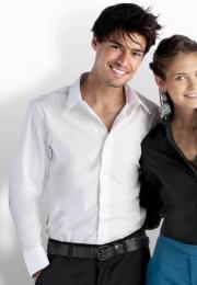 Pánská strečová košile s dlouhým rukávem - zvětšit obrázek