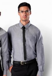 Pánská košile oxford s dlouhým rukávem - zvětšit obrázek