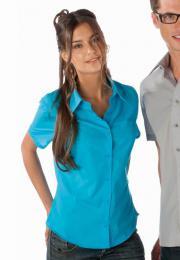Dámská košile krátký rukáv JUDITH - zvětšit obrázek