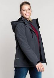 Dámská softshellová bunda Lined Hooded Parka - zvětšit obrázek