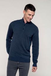 Pánský svetr na knoflíčky
