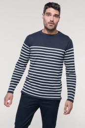 Pánský pruhovaný svetr - Výprodej
