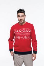 Vánoční svetr unisex se soby