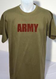 Pánské tričko kr.rukáv Army