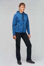 Dámská mikina s kapucí Ladies' heather hoodie