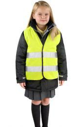 Dětská reflexní bezpečnostní vesta CORE
