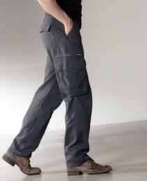 Pánské plátěné kalhoty - zvětšit obrázek