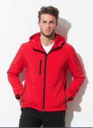 Pánská softshellová bunda s kapucí - Výprodej