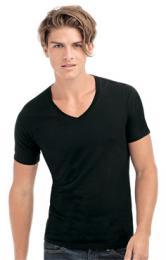 Pánské strečové tričko Dean V-neck - Výprodej