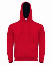 Unisex mikina Ocean Kangaroo hooded contrast - Výprodej