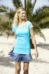 Dámské strečové tričko Tee Extra Lenght - zvětšit obrázek